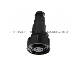 A Series power connector  3-pin  DM37722-PC0026 printing machinery spare parts for Domino inkjet printer