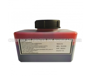 Alcohol based ink IR-233RD 1.2L printing red ink for Domino