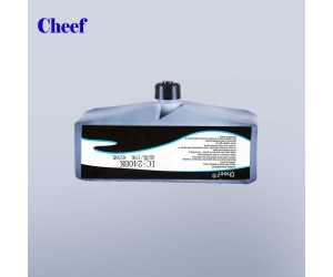 Blue fast drying ink anti-migration IC-240BK ink for domino Inkjet Coding Printer