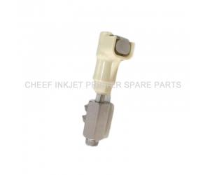 CONNECTOR-RECUP/BLEED-FOR SINGLE JET(DOUBLE TUBE 1.66-1.66) 5525 machinery parts for markem-imaje