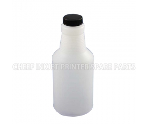 Cij printer spare parts 0126 INK BOTTLE FOR CITRONIX BLACK CAP 0.473L