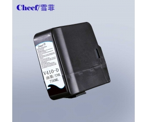 Compatible black videojet ink V410 D for Videojet CIJ inkjet code printer