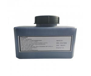 Fast dry printing ink IR-073RG Blue fluorescence under UV light for Domino