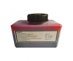 Food grade red ink IR-446RD printing ink on egg for Domino