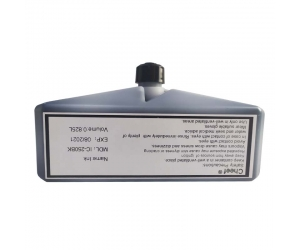 Industrial coding ink IC-250BK fast dry ink black inkjet ink for Domino