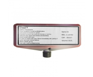 Industrial coding ink IC-291RD fast dry red ink for Domino
