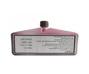 Industrial coding ink alcohol base IC-112RD UV lamp can show red fluorescence use on paper for Domino
