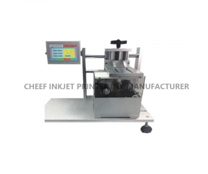 K-TTO thermal transfer printing CHEEF TTO device print date and batch number on plastic bags