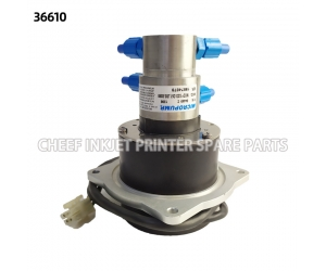 PUMP DUAL CIRCUIT 380 DRIVE STD LONG ROTOR 36610 inkjet spare parts for Domino