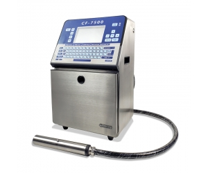 Small character inkjet printer 7500 with paging machine to coding and marking medical bag