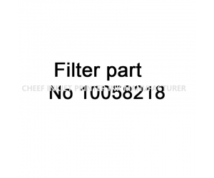 Spare parts IMAJE Filter 10058218 for Imaje inkjet printers