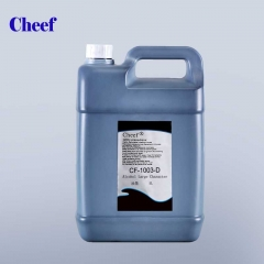 China 5L Ketone Large character DOD ink CF-1003-D-5L for DOD inkjet printer printing factory