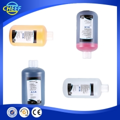 Çin China factory water based pigment black ink for Hitachi inkjet printer fabrika