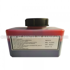 China Alcohol based ink IR-233RD 1.2L printing red ink for Domino factory