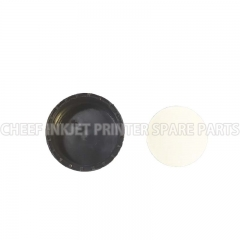 China Black bottle lid inket printer spare parts for Rottweil factory