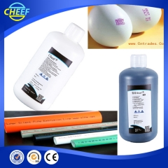 China white ink with high quality for Hitachi Inkjet Printer factory