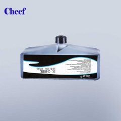 Tsina Blue fast drying tinta anti-migration IC-240BK tinta para sa domino Inkjet Coding Printer factory
