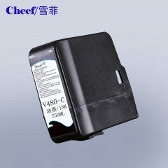 China Cheap price with good quality alternative white ink V480-C for videojet coding printing machine factory
