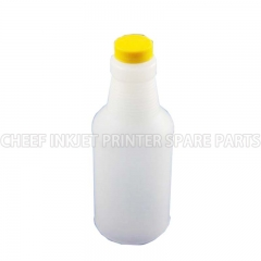 China Cij printer spare parts 0125 MAKE UP BOTTLE FOR CITRONIX(YELLOW CAP) 0.473L factory