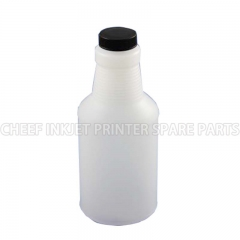 China Cij printer spare parts 0126 INK BOTTLE FOR CITRONIX BLACK CAP 0.473L factory