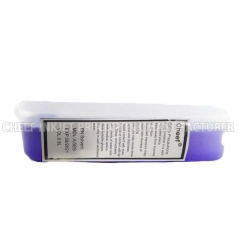 China Coding ink solvent A589 purple make up for Markem-imaje factory