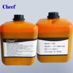 China DOD small character inkjet printer ink for domino IC-2BK156 factory