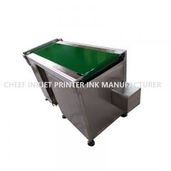 China Equipment hospital customized drug conveyer belt 1350mm *600mm * 850mm factory