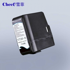 China Factory direct supply make up solvent V720-D for Videojet cij inkjet code printing machine factory