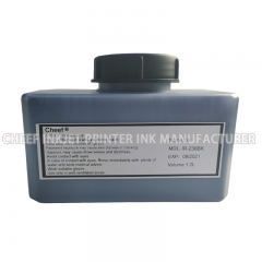 China Fast drying ink IR-236BK printing ink for Domino factory