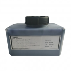 China Fast drying ink IR-899BK low odor cold storage tolerance for Domino inkjet printer factory