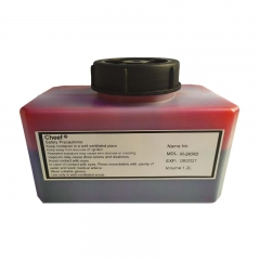 China Fast drying red ink IR-280RD high adhesion ink for Domino factory