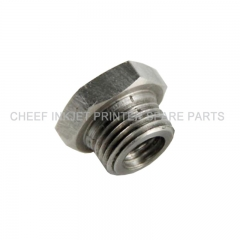 China HEXAGON NUT FOR PUMP PY0253 machinery parts for markem-imaje factory