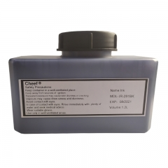 China Inkjet printer ink IR-291BK printing ink for Domino factory
