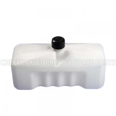 China Inkjet spare parts 0014 INK CARTRIDGE BOTTLE FOR DOMINO 0.825L factory
