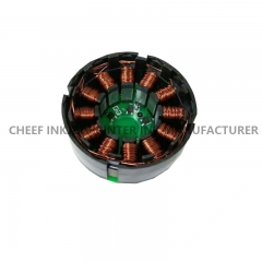 China Inkjet spare parts PP0464 Type-D 320I 420I motor for Domino factory