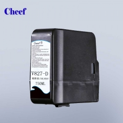 China Make up V827-D for videojet CIJ inkjet coding printer 825ml factory