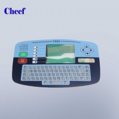 China PL1462 Chinese keyboard membrane printing for Linx 7300 marking printer factory