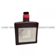 China Red ink for ci3000/ci1000 inkjet printers 302-4005-002  for Citronix factory
