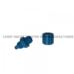China Spare parts CONNECTOR MALE 4X1/8 DB14174 for Domino A series inkjet printers factory