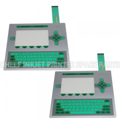 China Spare parts PC1403 MEMBRANE KEYBOARD FOR ROTTWEIL I-JET for Rottweil inkjet printer factory