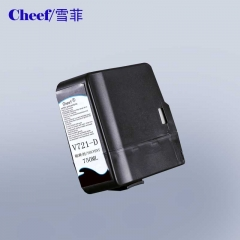 China Transparent make up and solvent V721-D for Videojet cij industrial inkjet printer factory