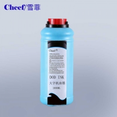 China blue ink for DOD large character inkjet printer factory
