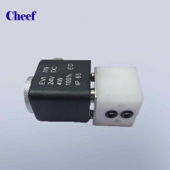 China cij small character inkjet printer spare parts SOLENOID VALVE 2WAY 24V3.8W(NO COIL)14780-PP0077 for Domino A series printer factory