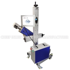 China co2 laser marking machine laser printer for cable laser date printer code machine factory