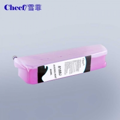 China compatible eco imaje pink or purple solvent for Image inkjet printer factory