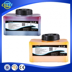 China for domino yellow ink for dot matrix printer factory