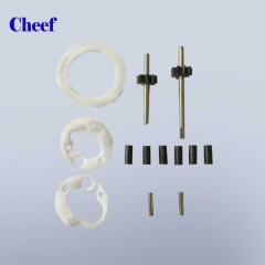 China inkjet printer spare parts A-G GEAR KIT FOR PUMP PG0256 for Domino A series printer factory