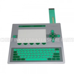China printing machinery parts MEMBRANE KEYBOARD PC1403 FOR ROTTWEIL I-JET factory