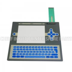 China printing machinery parts PC1404 MEMBRANE KEYBOARD FOR ROTTWEIL F Series for Rottweil inkjet printer factory