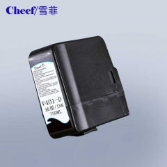 China videojet V401 Inks Cartridges with lower price for Videojet inkjet printer factory
